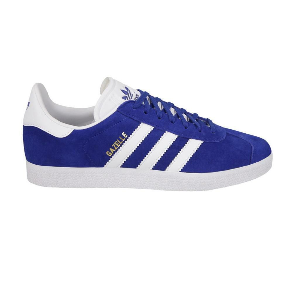 Herren adidas Original Gazelle Blau Turnschuhe S76227