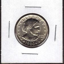 1980-D SBA$1 Susan B. Anthony Dollar