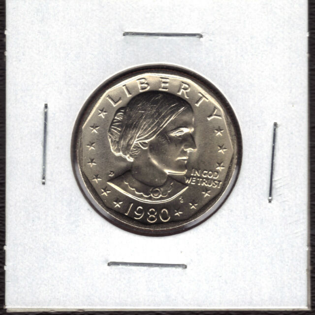 1980-D BU SBA SUSAN B ANTHONY DOLLAR ADDITIONAL COINS SHIP FREE