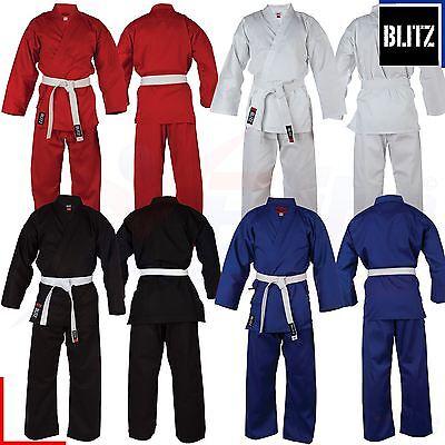Blitz Adult Mixed Pollycotton Karate Suit 7oz