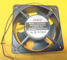 120MM AC 220V Sleeve Bearing Cool Case Cooling AC METAL Fan JIGO