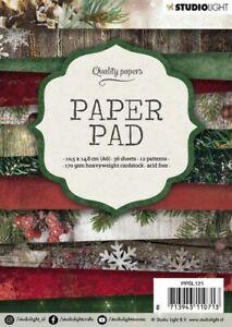 Paper-pad-Papier-block-Weihnacht-Winter-Christmas-Snow-A6-Studiolight-PPSL121