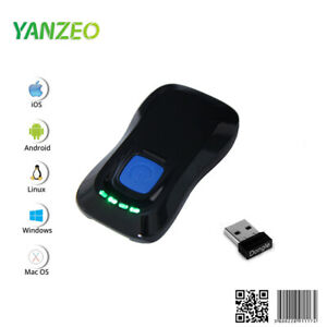 P2000 Bluetooth Wireless 2D Barcode Scanner QR Barcode Reader for IOS Android