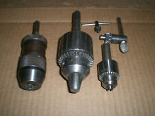 2 Jacobs And Rohm Keyless Chuck Up To 12 Capacity 12 Strait Shank