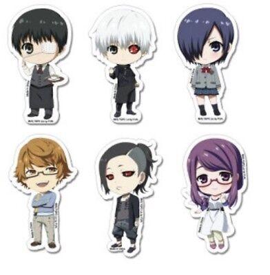Tokyo Ghoul Chibi Characters & Sticker Set Kaneki GE Anime Manga ...