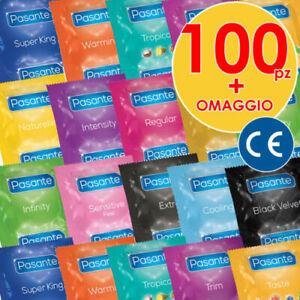 Mix-100-50-30-1-Preservativi-Profilattici-a-Scelta-Misti-PASANTE-Marchio-CE