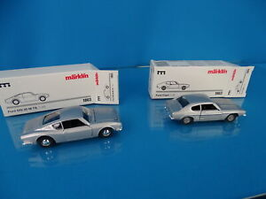 Marklin-1803-Set-of-2-cars-scale-1-43-Blank-metal-FORD