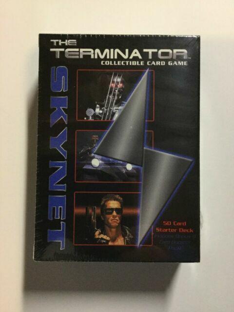 2 The Terminator CCG Starter Game Card Theme Decks 1 Resistance and 1 Skynet