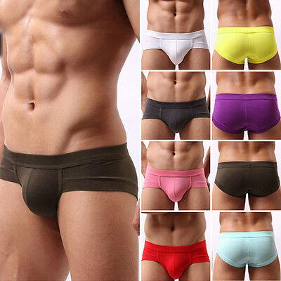 New Trunks Sexy Underwear Men's Boxer Briefs Shorts Bulge Pouch soft Underpants