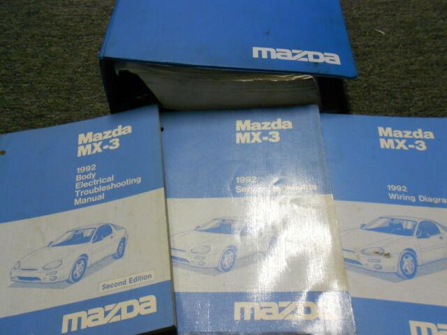 1992 Mazda Mx3 Mx