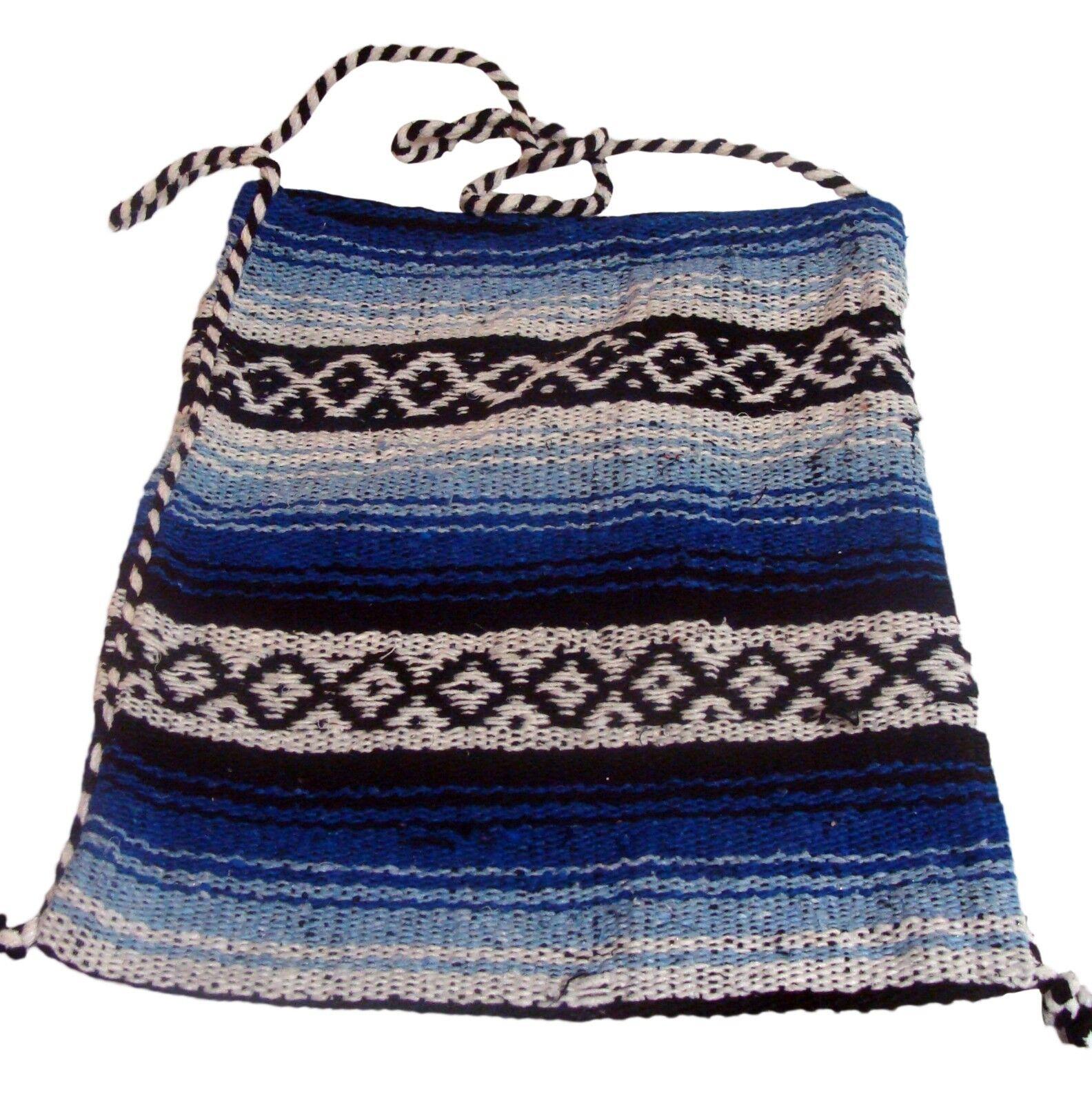 """#136 Falsa Market Tote Woven Bag 14/"""" x 16/"""" Artisan Made Fair Trade Mexico Purse"""