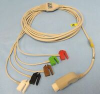 Trunk Cable, Ecg, One-piece, Philips 12-pin To 5-lead Pinch/grabber, 108
