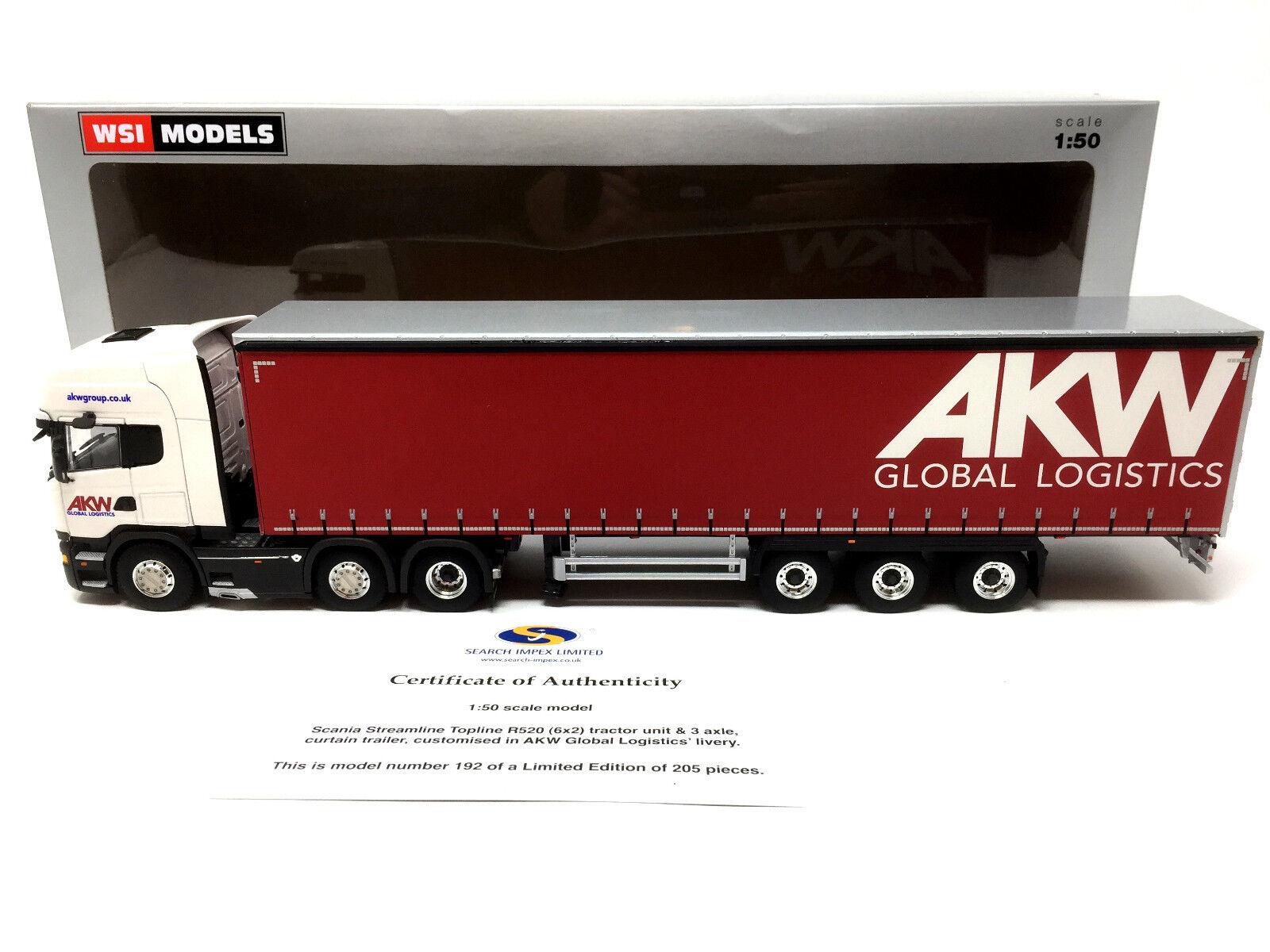 WSI Search Impex 1 50 50 50 Scania Streamline Topline R520 6x2 AKW Global Logistics fb7e12