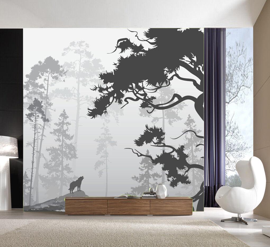 3D Kunst Baum Muster 899 Tapete Wandgemälde Tapeten Bild Familie DE Lemon | Ausreichende Versorgung  | Grüne, neue Technologie  | Hohe Qualität und günstig