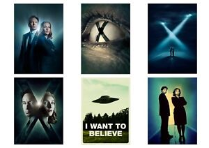 Details about The X-FILES Dana Scully Fox Mulder I Want to Believe A5 A4 A3  Textless Poster