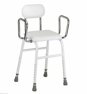 Fantastic Details About Perching Stool Resting Chair For Kitchen Ironing With Removeable Arms And Back Uwap Interior Chair Design Uwaporg