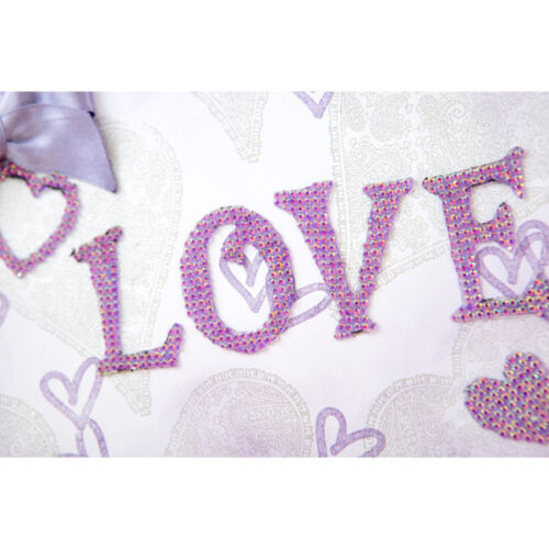 10 x A5 Sheets Create and Craft Dazzling Diamantes