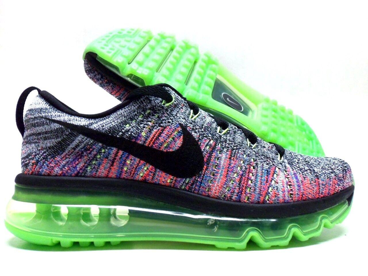 Nike / Flyknit Max White / Nike Nero-Ghost Green Dimensione Donna 5,5 620659-103] c877eb