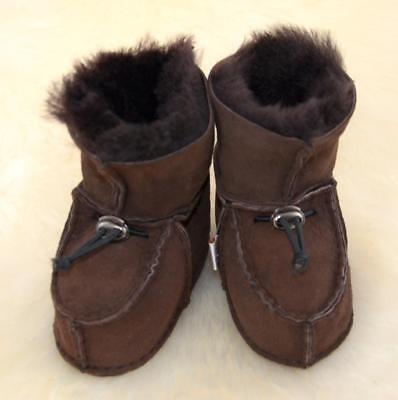 Baby-Lammfell-Schuhe Heitmann Hausschuhe Puschen Boots Stiefel Fell