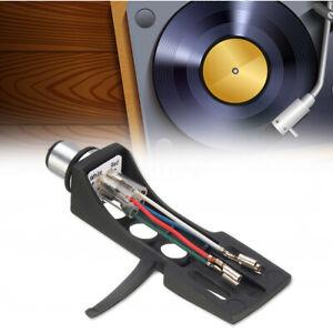 Black-LP-Turntable-Headshell-Mount-Replacement-For-Technics-SL1200-SL1210