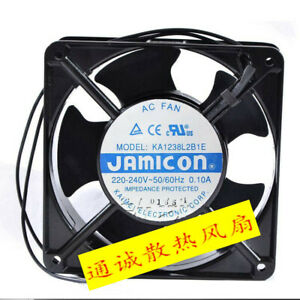 Applicable for AC FAN new JAMICON KA1238L2B1E 220-240V 0.10A cabinet cooling fan
