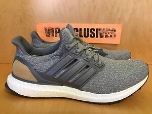 105bfb0ee Adidas Ultra Boost LTD 3.0 Grey Tan Suede Gray UltraBoost LIMITED ...