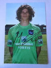MILE SVILAR 2016-2017 PHOTO OFFICIEL 13X19 CM SIGNEE RSC ANDERLECHT
