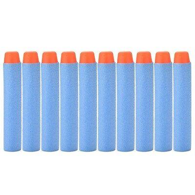 50 PCS LIGHT BLUE darts for Nerf N-Strike Elite Gun Refill Bullets *CHEAPEST*