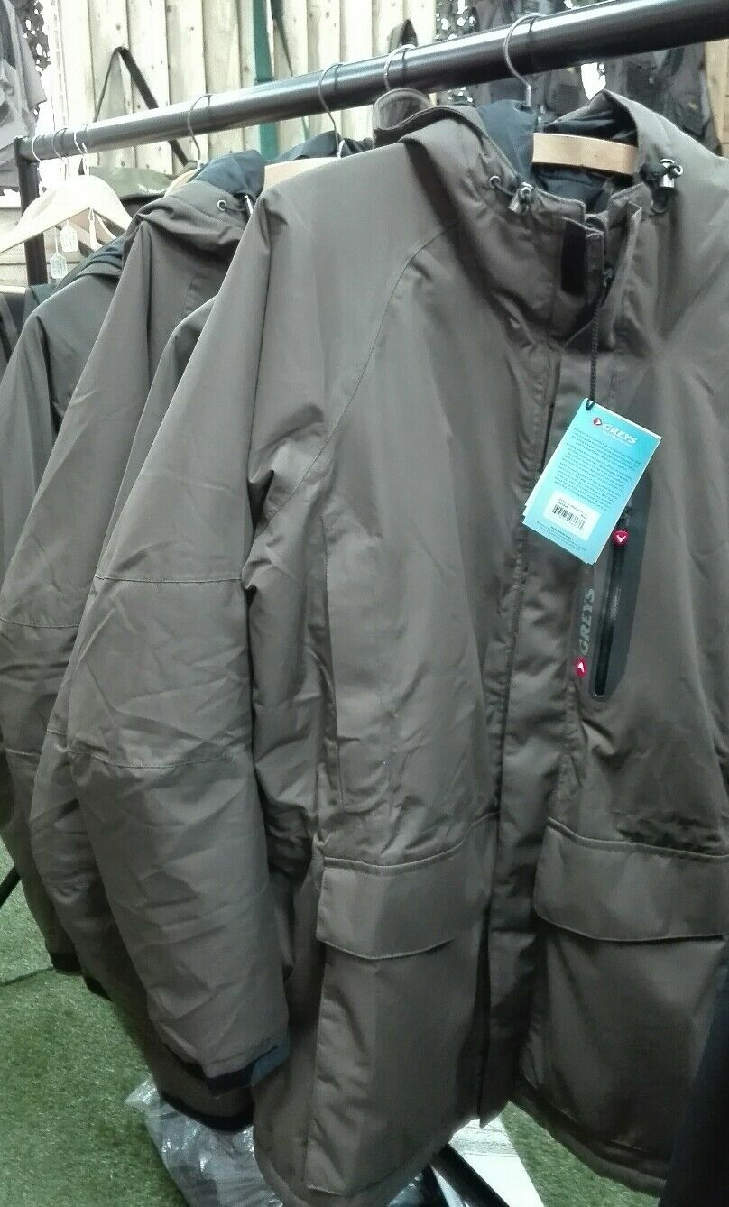 GREYS STRATA ALL WEATHER COAT, M SIZES, BRAND NEW, FISHING WEAR,LAST ONE