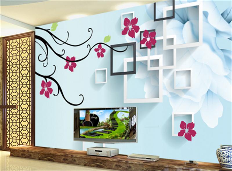 3D Raum Blaumenmuster 783 Tapete Tapeten Mauer Foto Familie Tapete Wandgemälde DE