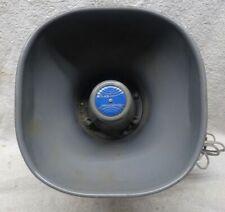 Vintage Atlas Soundolier Siren Loud Speaker Pa System Nice