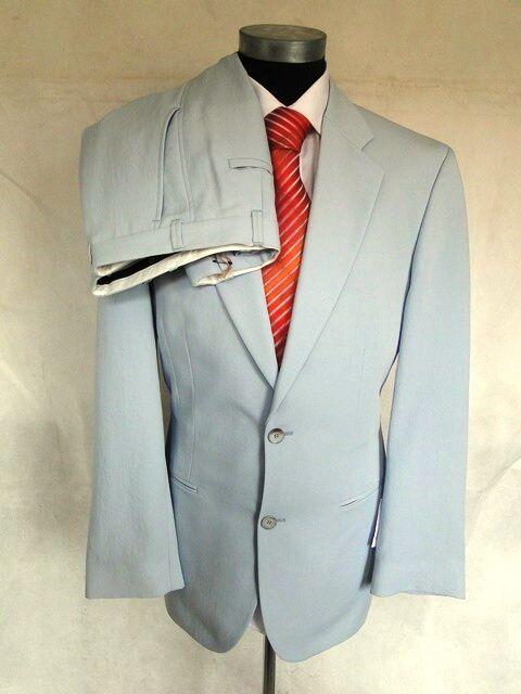 Venturo Einreiher Herren Anzug Sakko Hose Polyester Hellblau Gr. 50 NEU   | Erste Gruppe von Kunden  | Ausgezeichnetes Preis  | Qualitätskönigin