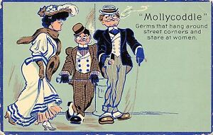 Mollycoddle-Series-Germs-That-Hang-Around-Street-Corners-Stare-at-Women-1908-PC
