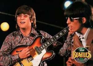 Image Is Loading John Lennon In Granny Glasses George Harrison