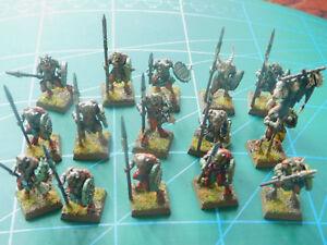 15 Warhammer 40k Donjons Dragons Space Marine En Plastique Peintes Figures-afficher Le Titre D'origine