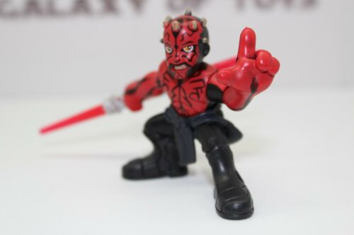 Playskool Star Wars Galactic Heroes Darth Maul w//o shirt Rebels Solo