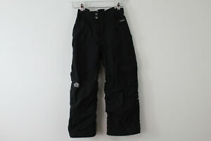 THE-NORTH-FACE-HyVent-Black-Ski-Trousers-size-S-7-8-Girls