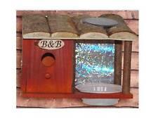 SOLAR BIRD HOUSE HOTEL NEST B&B BIRD FEEDER FLY INSECT CATCHER UV LED 752 NEW