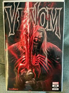 VENOM #28 Tyler Kirkham UNKNOWN COMICS TRADE VARIANT Virus Codex Knull NM