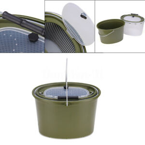 Collapsible Bucket Foldable Water Container  Portable for Camping Fishing Hiking