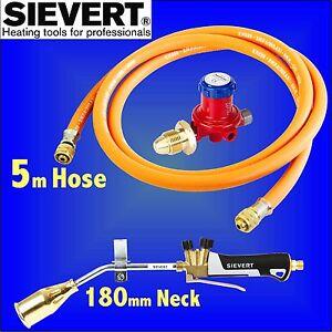 Details about Sievert 88 Propane Gas Torch plumbing metalwork roofing felt  bitumen 5m Hose