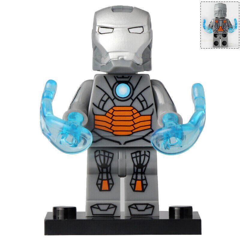 3Pcs War Machine Marvel End Game Lego Moc Minifigure Gift Toys