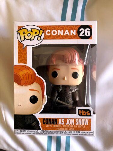 San Diego comic-con Funko Pop Conan O /'Brien dai John SNOW