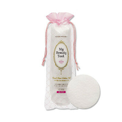 [ETUDE HOUSE] My Beauty Tool Round Clear Cotton Pad - 1Pack (80pcs)