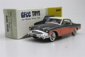 gray-GFCC-TOYS-1-43-1955-Studebaker-Speedster-Coupe-Alloy-car-model-sports