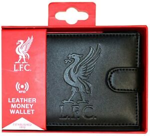 Liverpool-FC-Debossed-Crest-Official-Leather-RFID-Money-Card-Wallet