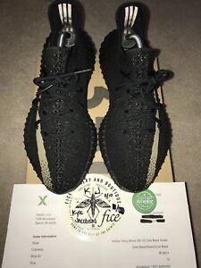 yeezy 350 v2 black green