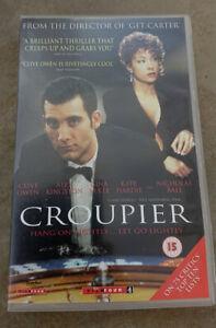 CROUPIER-Clive-Owen-Alex-Kingston-Big-Box-PAL-VHS-Video-1998-Neo-Noir