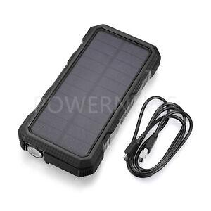 9000000mAh Quick Charging 3.0 USB Portable Solar Battery Charger Power Bank