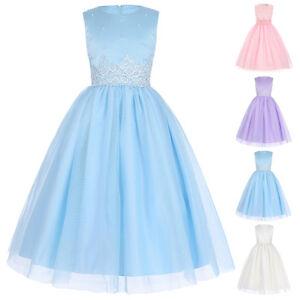 Vestido-de-nina-con-Flores-Infantil-Vintage-Princesa-Formal-CONCURSO-DE-BELLEZA